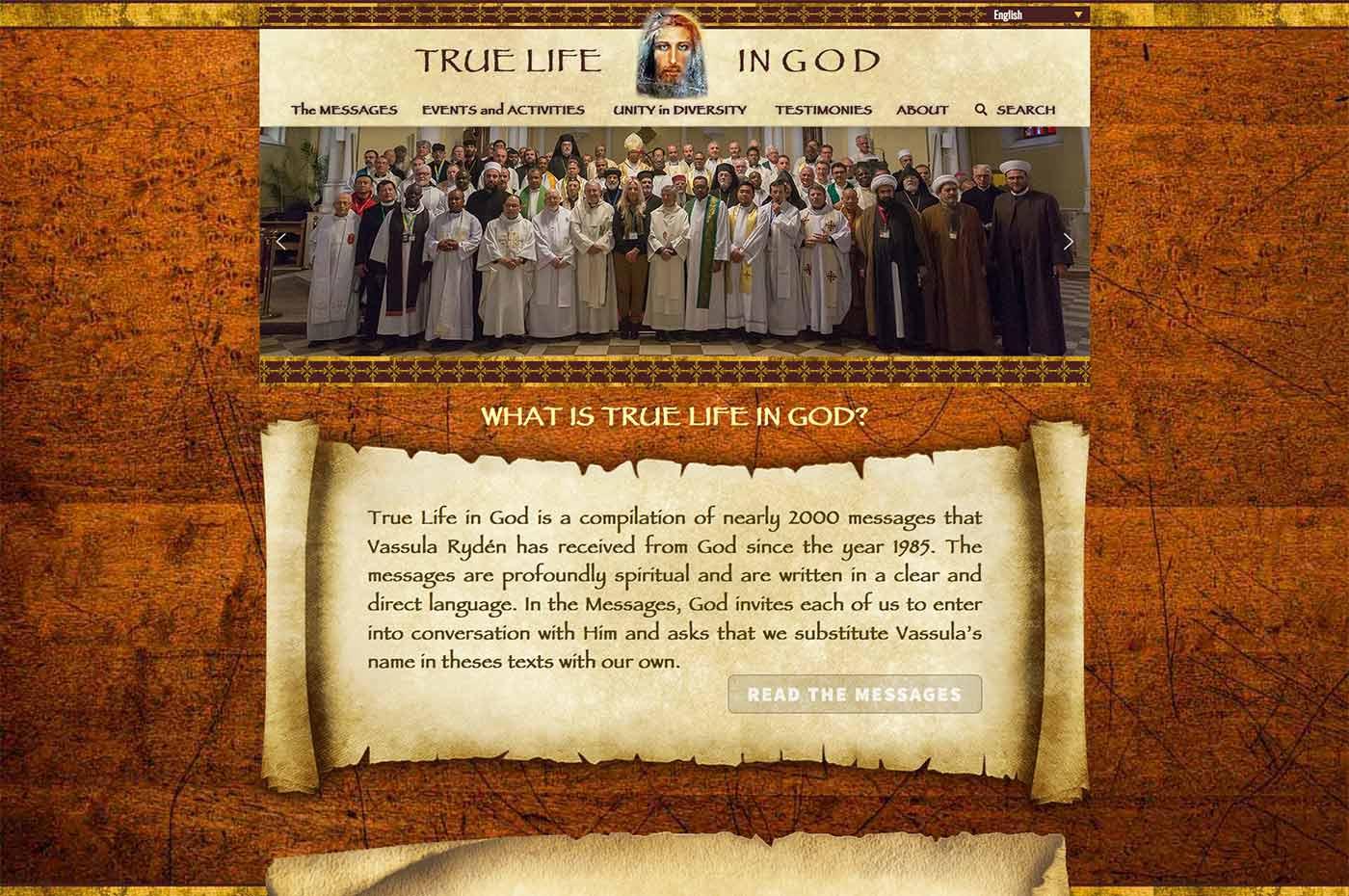 screenshot de la page d'accueil de tlig.org