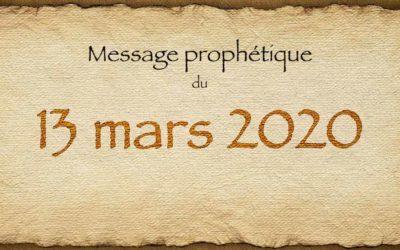 MESSAGE PROPHÉTIQUE SUR LE COVID19